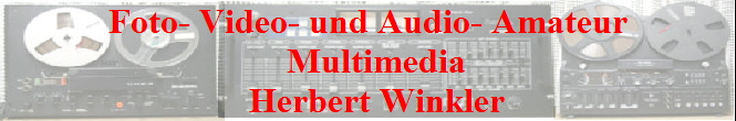 Foto- Video- und Audio- Amateur