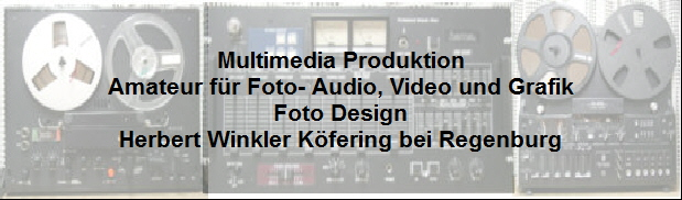 Multimedia - Amateur Audio,Video Foto Herbert Winkler